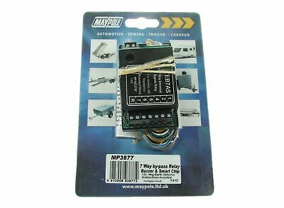 Maypole Relay - 7 Way Bypass Towing Relay 15Amp Bk Towbar Wiring - MP3877