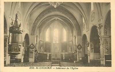 Cp St-Chinian Interieur Eglise