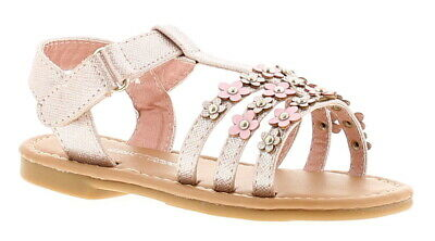Chatterbox Daisy Girls Kids Summer Sandals Pink UK Size 7