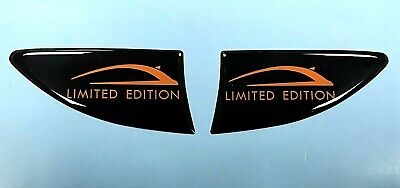 CORSA ORANGE LIMITED EDITION 70mm Repeater/Indicator Stickers - HIGH GLOSS DOMED