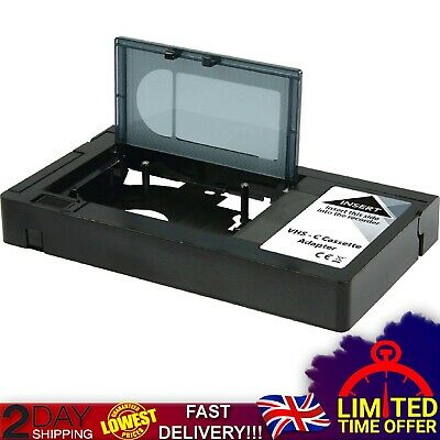 Motorised VHS-C Compact Video Cassette Tape Adaptor Operated Camcorder Battery