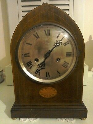 Large Victorian / Edwardian clock for spares or repair.