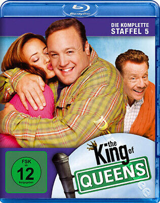 The King of Queens (Complete Season 5) NEW Blu-Ray 2-Disc Set K. James L. Remini