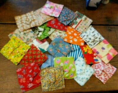 342 Padded Square Quilt Pieces