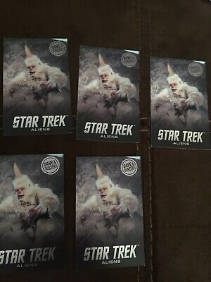 5 Star Trek Mugato Cards, Dave and Busters