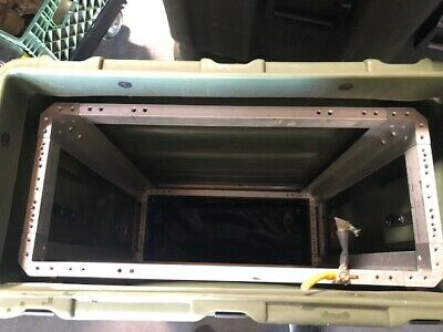 Hardigg Pelican Rackmount  4U  case with  lid pouches in Great condition