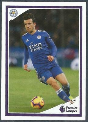 Panini Tabloid Premier League 2019- #025-Leicester City-Ben Chilwell In Action
