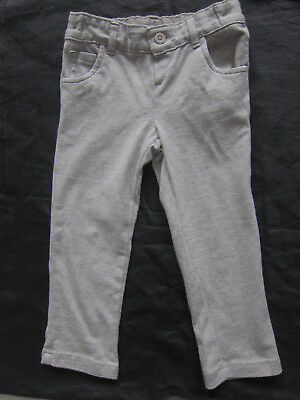 New Girls Marks & Spencer Grey Trousers Age 3 - 4 Years