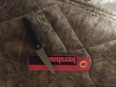 """Kershaw Hotwire Assisted Open Tactical Pocket Knife 1310WM 3Cr13 GFN 6.2"""" Open"""