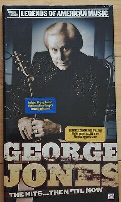 George Jones: The Hits...Then Till Now, Time Life 3 CDs Pack, New/Sealed