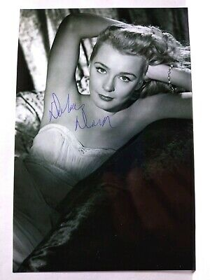 DOLORAS DORN Authentic Hand Signed Autograph 4X6 Photo - SEXY 1950'S ACTRESS