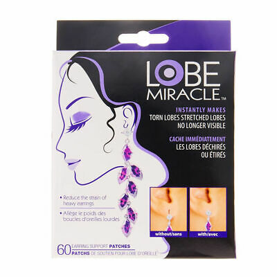 Claire's Girl's Lobe Wonder Earring Support Patches Clear