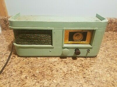 Vtg Antique Crosley Tube Radio Model 56TP