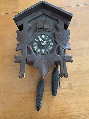 Black Forest Cuckoo Clock  Made In Germany #753