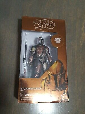 New! Target Star Wars Black Series Carbonized The Mandalorian Limited