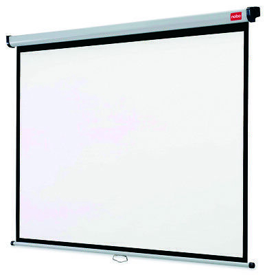New  Nobo Wall Mounted Projection Screen 1500X1138mm 1902391
