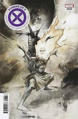 Powers Of X #6 1:10 Huddleston Variant Marvel Comics 10/8/2019 Eb83