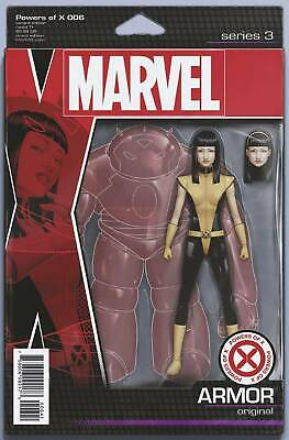 Powers Of X #6 Christopher Action Figure Variant Marvel Comics 10/8/2019 Eb84