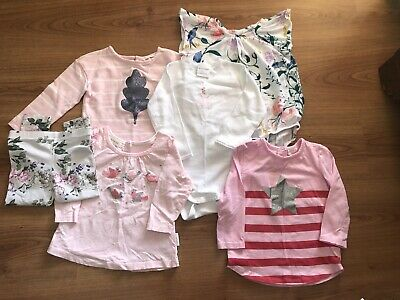Bulk Baby Girls Clothing Size 12-18 Months Purebaby Country Road Bonds Milky