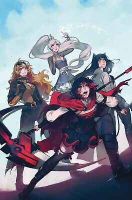 Rwby #1 (Of 7) Dc Comics 10/9/2019 Eb84