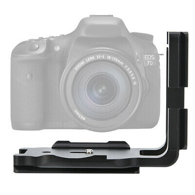 Quick Release L Plate Bracket Camera Hand Grip Holder For Canon 7D Camera TG