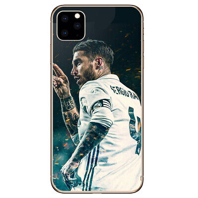 Silicone Phone case Soccer Real Madrid SR4 For iPhone 11 Pro X Max XR 8 7 6 Plus