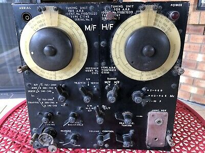 WW2 RAAF AR8 Aircraft Radio Receiver