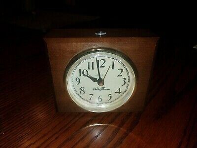 Antique Seth Thomas Clock Lighted face Working! USA 189H