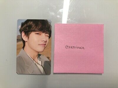 BTS Official Photocard Love Yourself Tear: V (Taehyung) Y Version