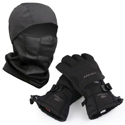Waterproof Ski Gloves Winter Warm Snowboard Thermal Motorcycle Snow Men