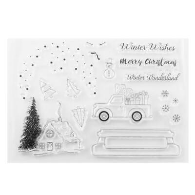 Various Style Silicone Clear Stamp Transparent Rubber Stamps DIY Scrapbooking