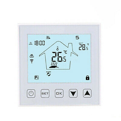 Home Remote Thermostat Intelligent LCD Controller APP WIFI Floor Heating