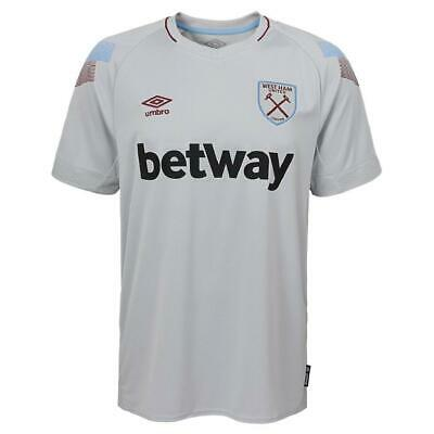 WEST HAM UTD Umbro Official 3rd Football Shirt 2018-2019 NEW Mens Jersey United