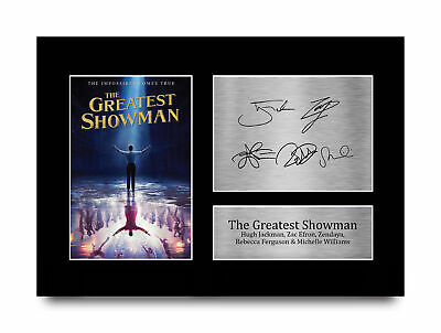 Greatest Showman Signed Pre Printed Autograph Photo Gift For a Hugh Jackman Fan