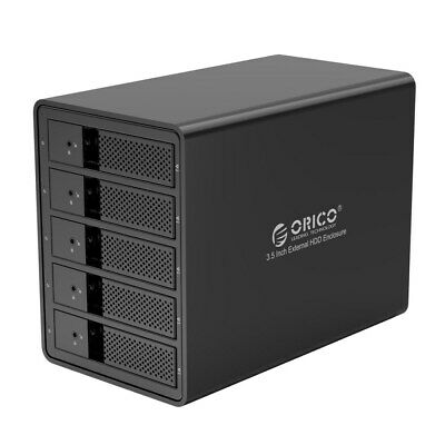 ORICO 9558U3 3.5-inch 5 Bay External Hard Disk Drive HDD Enclosure Case
