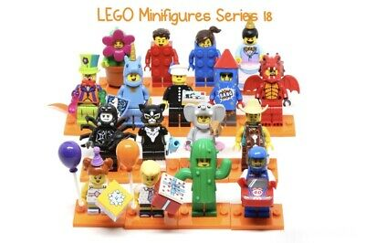 Lego Series 18 Collectable Minifigures Minifigs Free Post New Genuine 71021