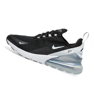 Nike Women's Air Max 270 Black Pure Platinum White 2019 Running Gym AH6789 013