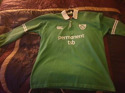 Ireland 2003 long sleeved rugby world cup shirt size XL