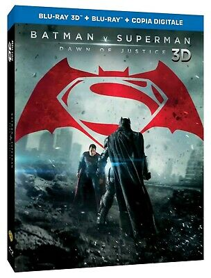 Batman v Superman Dawn of Justice Ultimate Edition 3D Blu-Ray - NEW & SEALED