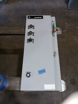 Ge Size 1 Combo Motor Starter 3Ph Non Fused Indoor