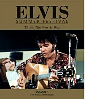 ELVIS Summer Festival That's The Way It Was / 3 Book Set In Slip Case PRE ORDER