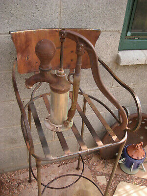 Antique U.S. Wind Engine & Pump Co., Batavia, IL. Hand Water Pump