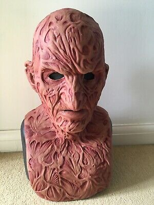 Horror Halloween Immortal Masks Limited Edition  Freddy Kreuger Silicone Mask