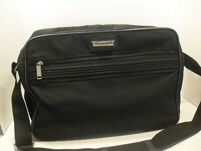 Verdi Black Shoulder Tote Carry-On Luggage  Bag Weekend Travel Overnight Bag 15""