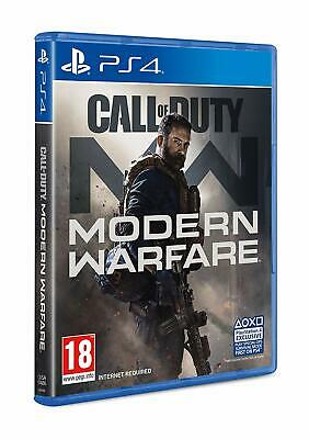 Call of Duty Modern Warfare (PS4) - PRE-ORDER Release Date: 25/10/19