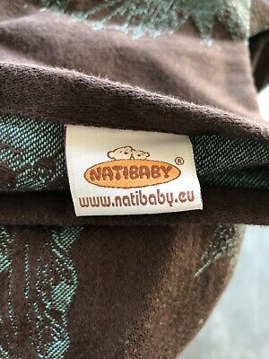NATIBABY Woven Wrap Sling Baby Carrier Size 6