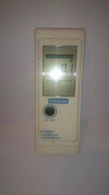 HANNA FOODCARE HI 9241 THERMOMETER  NO THERMOMETER. Working but read description