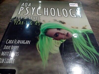 AQA psychology for A level year 1&AS book