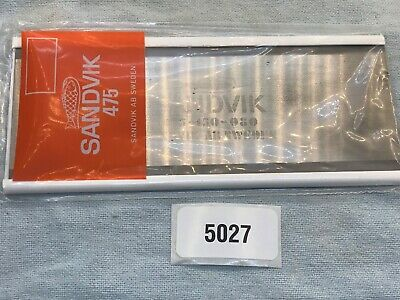 Bahco 475-150 New Sandvik 80 Woodworking Hand Card Scraper: Mult Available