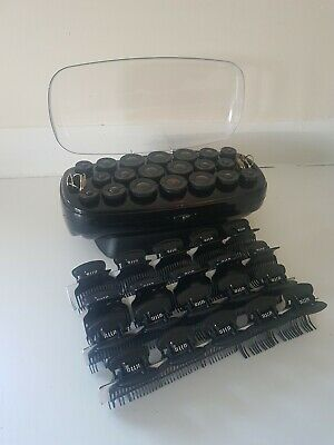 Babyliss Thermo Ceramic Hair Rollers Fast Curl Black Tested & Complete